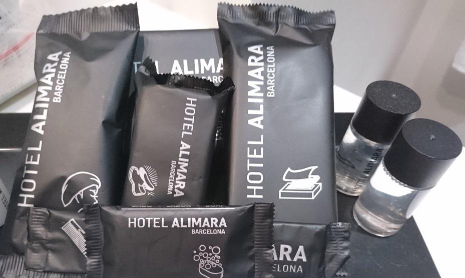 ホテル・アリマラのアメニティ