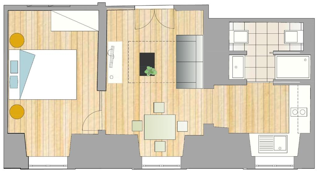 カザス ダ バイシャ ジュール & マドレーヌ(Casas da Baixa - Jules & Madeleine)Booking (4).jpg