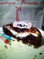 ケーキ断面。