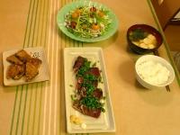 2008/06/29 ミニトマト&小ねぎ 活用中v
