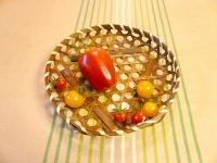 2008/07/12 パプリカ&ミニトマト収穫♪