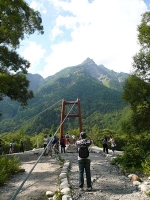 2008/08/10 上高地 明神橋