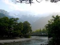 2008/08/11 上高地 早朝の河童橋
