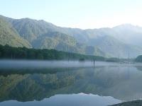2008/08/11 上高地 朝靄の大正池