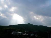 2008/08/12 三峰大展望台 天使の梯子
