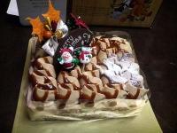 2008/12/23 クリスマスケーキ「キャラメルマロン」