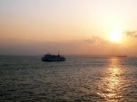 2009/03/20 東京湾フェリーからの夕日。