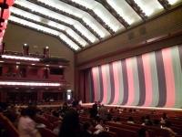 2009/05/09 歌舞伎座 劇場内