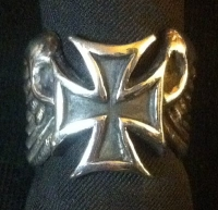 FLYING CROSS RING 3