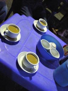 コンデンスミルク入りの凄く濃い紅茶