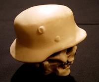 ナチヘルスカル・シフトノブ ヘルメット部分