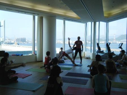プリンスホテル広島ヨガ教室