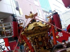 天神祭 2009 ギャルみこし
