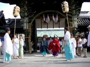 天神祭 宵宮祭
