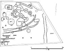 茶屋町の発掘調査