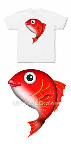 タイ(鯛)のTシャツ