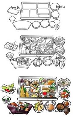懐石料理 イラスト