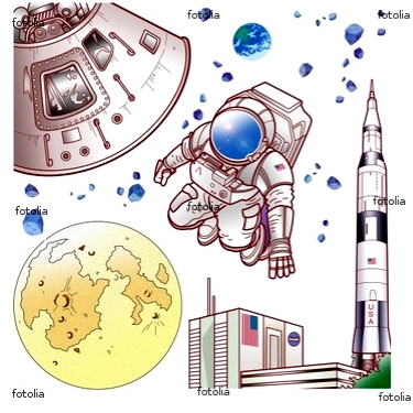 アポロのイラスト