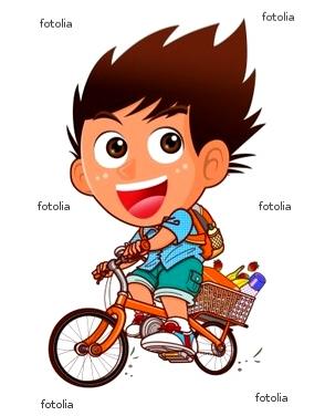 サイクリング 少年