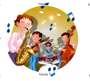 ジャズ 楽器 イラスト
