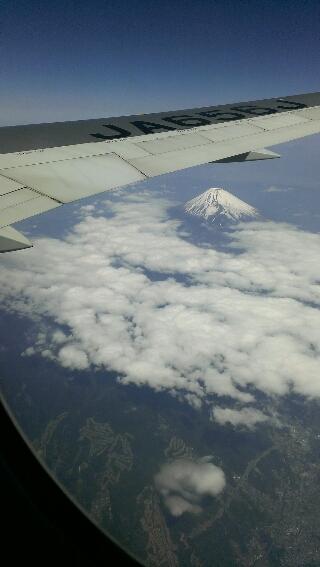 空から見た 富士山