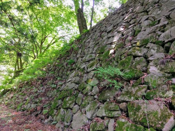 高取城 石垣