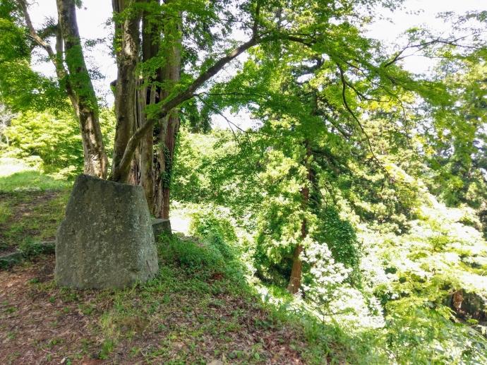 高取城 石碑