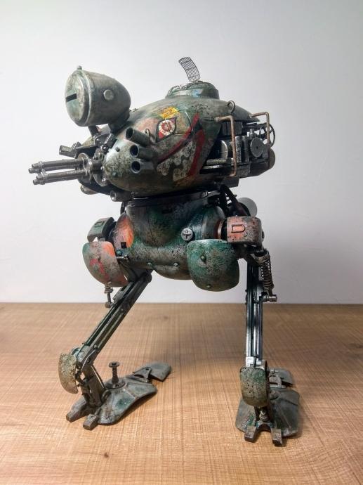 クレーテ T.W.-47 KROTE Maschinen Krieger ZbV3000 Ma.K. 塗装 リペイント マシーネンクリーガ  ー