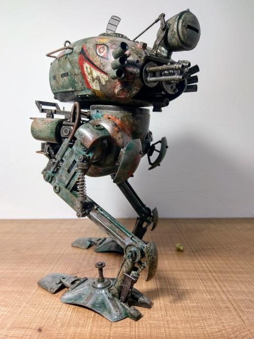 クレーテ T.W.-47 KRÖTE Maschinen Krieger ZbV3000 Ma.K. 塗装 リペイント