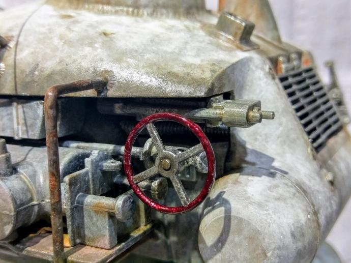 クレーテ T.W.-47 KROTE Maschinen Krieger ZbV3000 Ma.K. 塗装 リペイント マシーネンクリーガー ハンドル