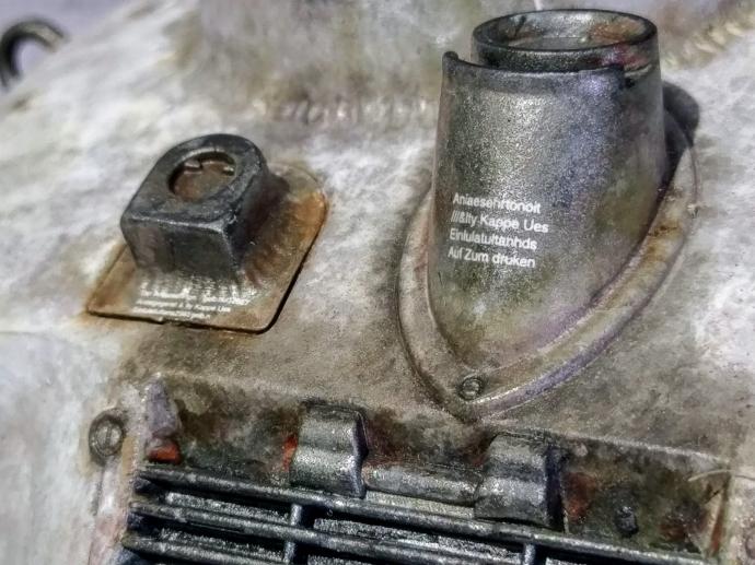 クレーテ T.W.-47 KROTE Maschinen Krieger ZbV3000 Ma.K. 塗装 リペイント マシーネンクリーガー 煙突