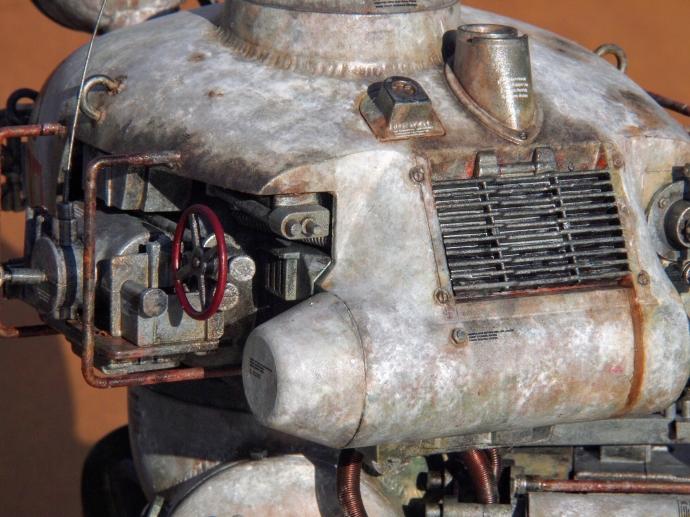 クレーテ T.W.-47 KROTE Maschinen Krieger ZbV3000 Ma.K. 塗装 リペイント マシーネンクリーガー