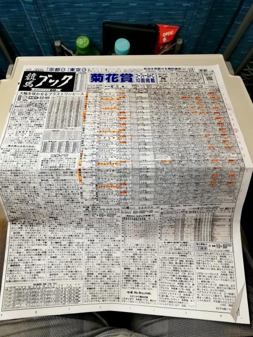 競馬ブック 菊花賞 新幹線 人身事故 姫路