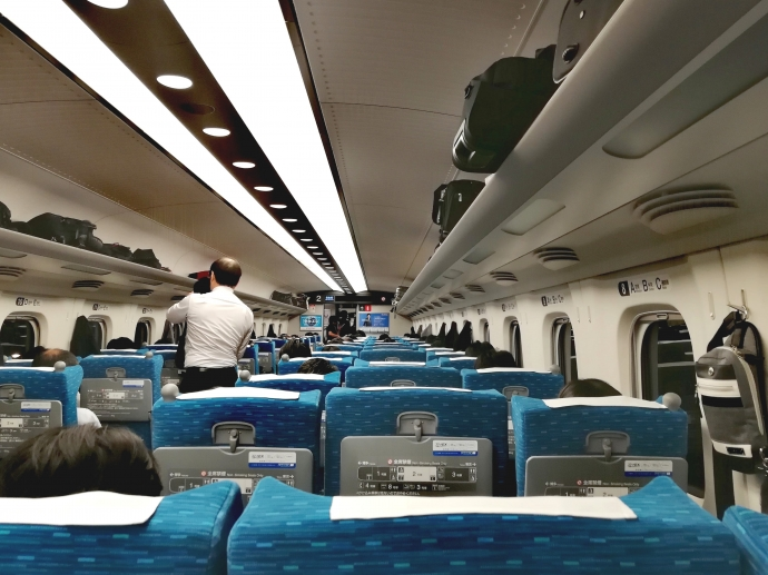 姫路 人身事故 車内 新幹線