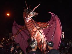 ドラゴンのオゴオゴ