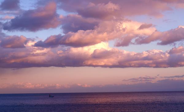 真鶴の夕日を見にいらっしゃいませ!