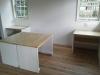 移動式のテーブル。