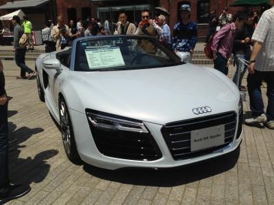 Audi R8スパイダー