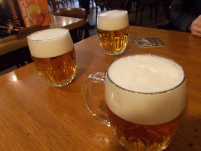 プラハのピヴォバール(ビールバー)