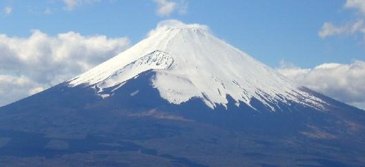 芦ノ湖スカイラインから見た富士山
