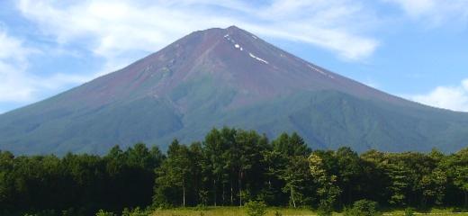 夏の富士山2006