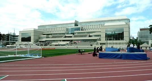 慶應義塾日吉陸上競技場