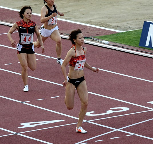 日本選手権女子100m決勝