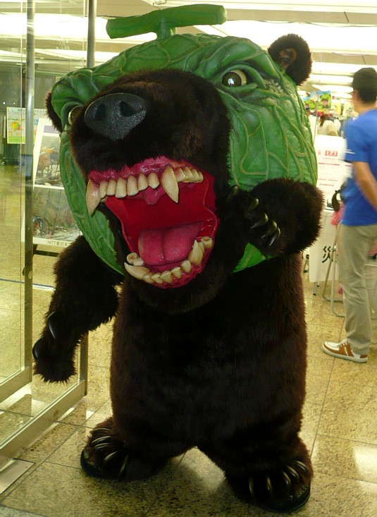 夕張メロン熊