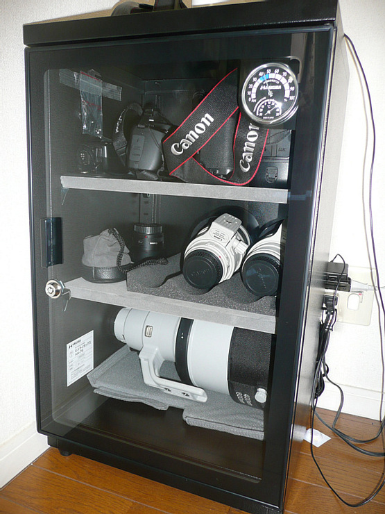 HAKUBA 電子制御防湿保管庫 E-ドライボックス KED-HA75
