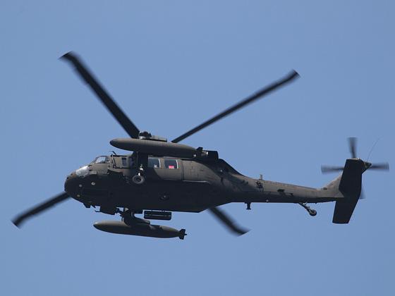米国陸軍のヘリ(Sikorsky S-70)