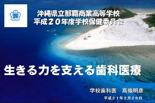 H20那覇商業学校保健委員会