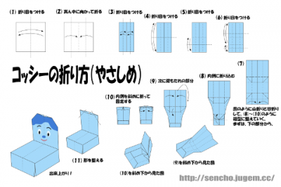 コッシーの折り方2