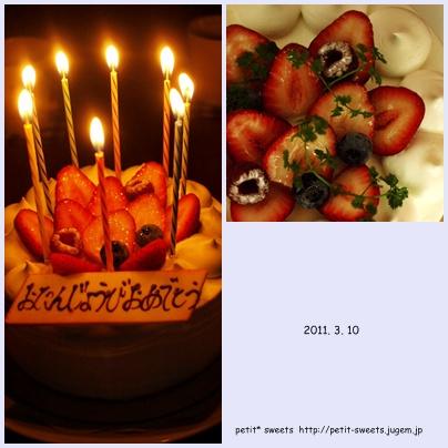 birthday cake★
