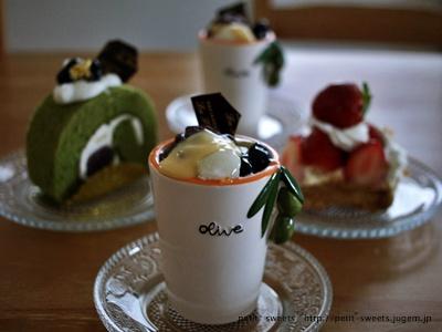 季節のケーキたち